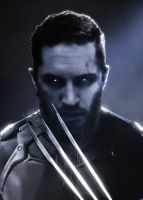 Tom Hardy as Wolverine by LitgraphiX