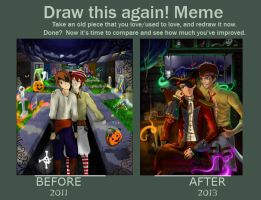 Draw This Again (2yr) Challenge by MoPotter
