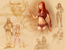 sketches by ChristianNauck