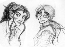 Gee and Ashima by Rosey337