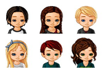 The Hunger Games characters by MortalInstruments03