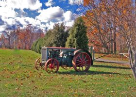 Old Tractor in Virginia by Maggiesdaisy
