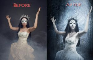 Before After 10 by FP-Digital-Art
