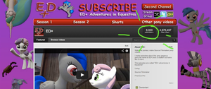8000 subs! by EDplus