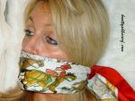 Just Another Way to Wear Your Hermes Scarf... by knottysilkscarf