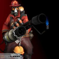 SFM-TF2-Red-Pyro-C-SteamPic-Pyromaniac by denisemakar
