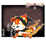 [CLOSED] Halloween Sloxou candy corn witch Auction by Miru-Adoptables