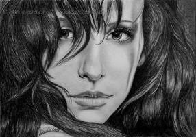 Jennifer Love Hewitt II by WitchiArt
