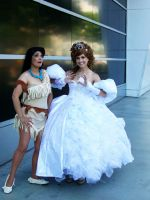 Princesses at the Expo by vifetoile