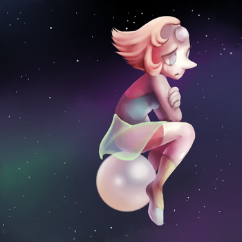 Steven Universe - Pearl by nyausi