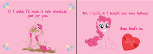 Pinkie Pie Valentines Day by TheAmazingNoodle