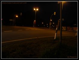 Traffic Lights - part four - middle of a crossroad by Miarath