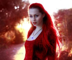 Burning Soul by VampyrEmpress