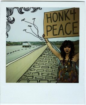 i honk for peace by thetreetops