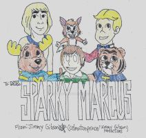 Sparky Marcus Tribute by CelmationPrince