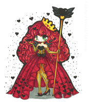 Queen of Hearts by Skull-san
