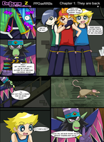 Onlyne Z: chap.1 they are back 6 by BiPinkBunny