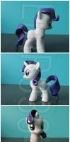 FOR SALE: Young/Filly Rarity Custom by EmR0304