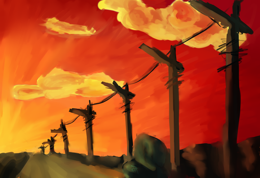 Speed Painting Challenge #3 by ElectricNite