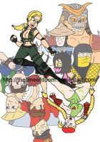 Mortal Kombat VS Street Fighter by thelimeofdoom