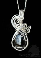 Lyrical Black Onyx Pendant by Nambroth