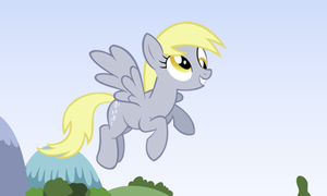 Derpy Hooves 3D Picture for Nintendo 3Ds by cesargo