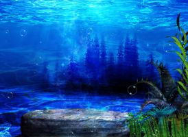 PREMADE OCEAN by Moonglowlilly