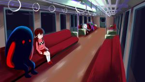 Train Passenger by AsuSilver