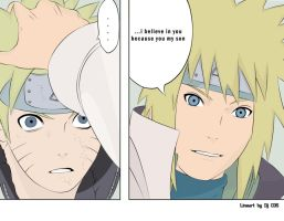 minato_'i belive in you son' by NarutoUzmike