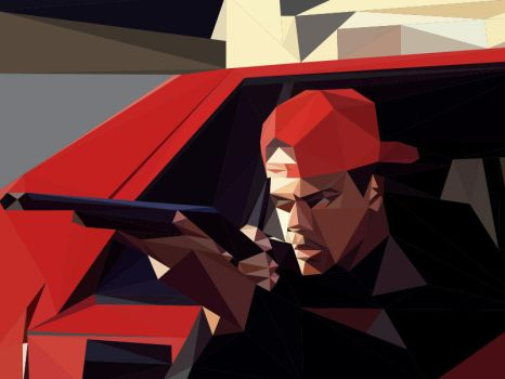 Shooter Low-Poly by chadtrutt