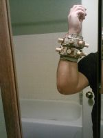 Arm armor thingy for KH Cloud by JasonTerror