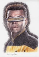 Ten. La Forge by Nymeria-Stark