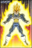 Super Vegeta by DBZwarrior