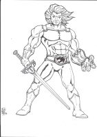Lion-o by Wyzewun