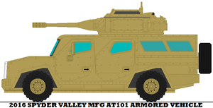2016 Spyder Valley Mfg AT101 Armored Vehicle by mcspyder1