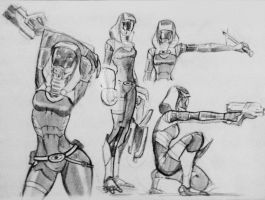 sketches Tali (132) by spaceMAXmarine