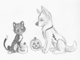 Carving Pumpkins by chameron