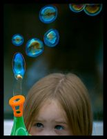 sara bubbles 3 by LukeShannon