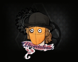 Clockwork Orange Wallpaper by mxozone
