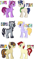 [SOLD] - Crackship Fanfoal Adopts 2 by Featheries
