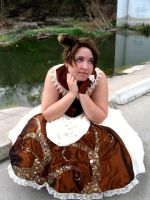 Steampunk Dress 3 by voodoo-cosplay