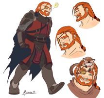 Sketchdump. Ragenhard by Queen-Apple