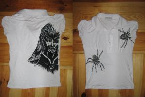 Drow T-shirt by sinestromaster