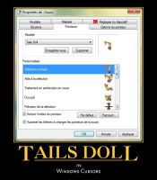 Tails Doll cursors by SpringsTS