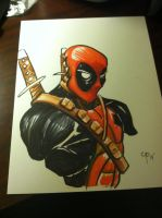 Deadpool 8.5x11 by ColePeterson