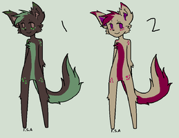 Anthro Adopts (1/2 OPEN) by AvalaAdopts