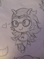 SKETCH---Feferi by PPGxRRB-FAN