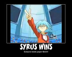 What Syrus really won at... by hybridchick