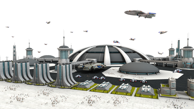 Federation Spaceport Stock by vatorx