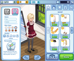 Fay Riddle On Sims Social by NekoDBaby09